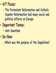 Impact of the Reformation 2.ppt