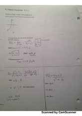 verical asymptotes worksheet