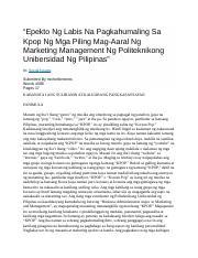 Paynal Na Bitch Docx Mainstreaming Original Pilipino Music Ni Anjeline Dios Rrl Buod Ang Mga Pilipinong Nagtatrabaho Sa Ibang Bansa Ay Hindi Ibig Course Hero