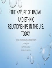 The Nature of Racial and Ethnic Relationships in the US.pptx