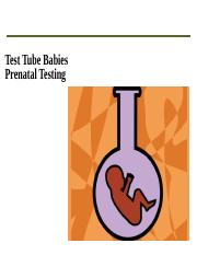 DNA testing in vitro Fertilization