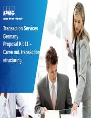 Proposal Kit_11_Carve_out_and_transaction_structuring