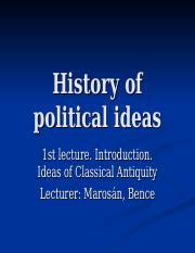 21.History of political ideas.ppt