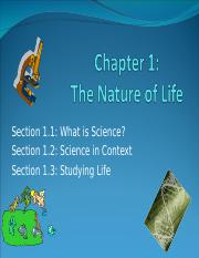 StudentWeek1Chapter 1 The science of Biology (1).ppt