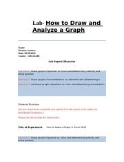Lab 2- How to Draw and Analyze a Graph - 09-08-18 copy.docx