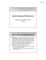 IB Chapter 05 - International Trade Theory