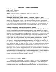 Case Study 1 (Paper A - Group 1)
