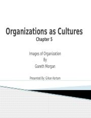Organizations as Cultures.pptx