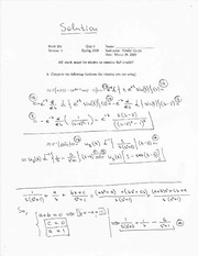 math 251 quiz2 solution