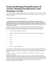 CLASSIFICATION OF LIVING THINGS.docx