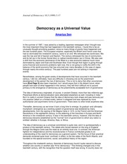 Lect4 Sen Democracy Universal Value