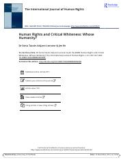 Human Rights and Critical Whiteness Whose Humanity.pdf