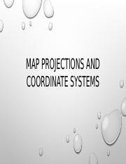 1Map projections and coordinate systems.pptx