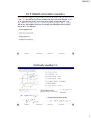 Ch 2 - Integral conservation equations notes.pdf