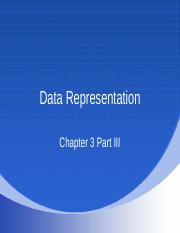 Chapter 3_Part III Various Types of Data Representation.ppt