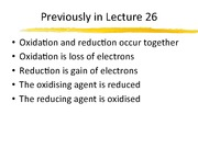 Lecture 27-REDOX