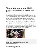 Team Management Skills.docx