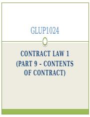 Part_9_-_Contents_of_contract