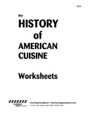 3023_History_Cuisine_ Worksheet
