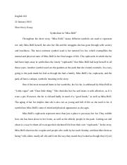 miss brill analytical essay Read miss brill free essay and over 88,000 other research documents miss brill this short story is narrated in the third person from the point of view of the.