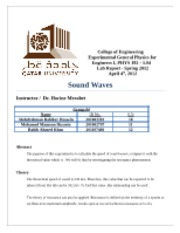 Final Report4 - Soundwaves
