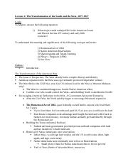 Lecture2_SouthWest_Outline.doc