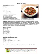 WheatBerryChili