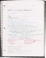 Classical Approach Notes