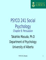 PSYCO241_Ch8Persuasion2015Wclass