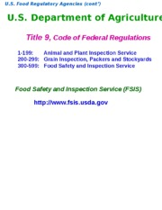Oct 26  Regulation of the Food Supply (2).ppt