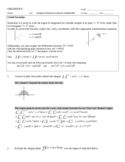 L22 - 15.4 - Double Integrals in Polar Coordinates - key