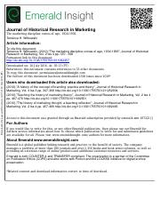 Witkowski Marketing Discipline Comes of Age 1934 1936 JHRM 2010.pdf