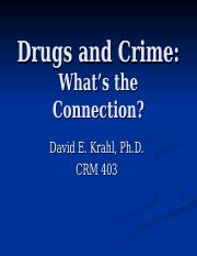 The Link Between Drugs and Crime & Violence REV.ppt