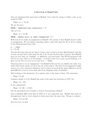 Lecture Notes B on Computation For Pure Mathematicians