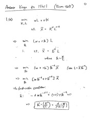 ECON 425 Fall 2013 Homework 1 Solutions