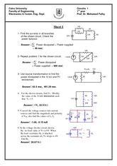Homework_1_Simplification of circuits