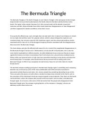 The Bermuda Triangl 2.docx