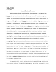 Cultural Anthropology Paper 2