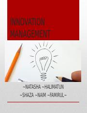 INNOVATION MANAGEMENT 2.pptx