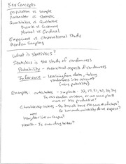 Lecture 1 Professors Class Notes