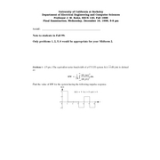 Electrical Engineering 120 - Fall 1998 - Kahn - Final Exam