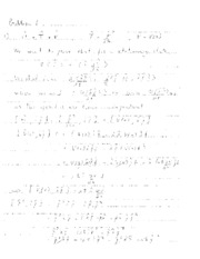 Quantum Mechanics Solutions Exam April 2013