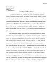 Racial profiling opinion essay sample
