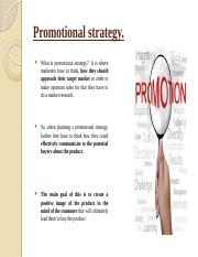 Promotional stratergy..pptx