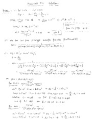 Solutions for Homework (4)