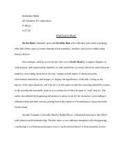 Two Title Essay