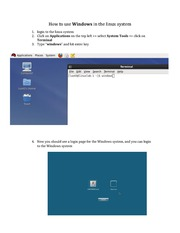 Use Windows in the linux system