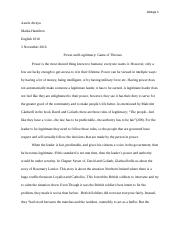 Satirical essay on weed