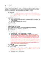 Study Guide 1 - History 106 (1).docx