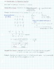 3.4 NOTES The Real Zeros of a Polynomial Function